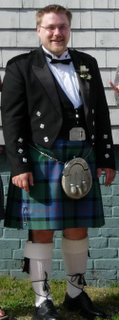 Some guy in a kilt
